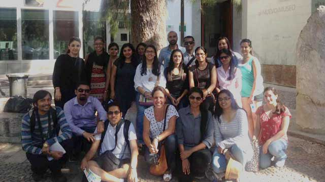 Students and Staff Institute of Ismaeili Studies in London. Cordoba trypjpg 640x